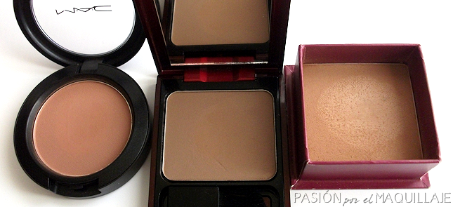 Colorete Harmony MAC, Sculpting Powder, bronceador Benefit Hoola