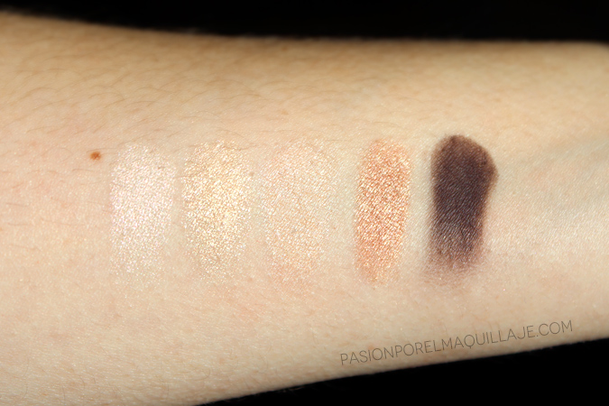 Swatches Urban Decay x Gwen Stefani