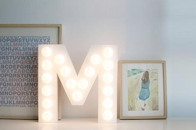 Adornos con luces LED