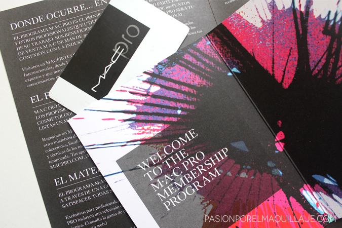 Tarjeta MAC PRO de Mac Cosmetics