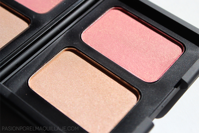 Colorete iluminador Nars Hot Sand y Orgasm