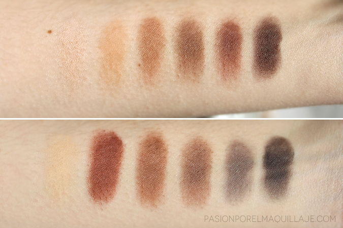 Swatches Urban Decay Naked Ultimate Basics