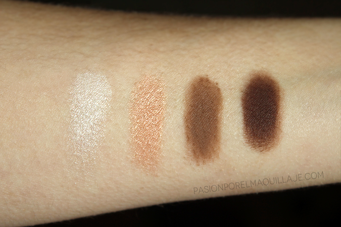 The Contour Book swatches Kevyn Aucoin