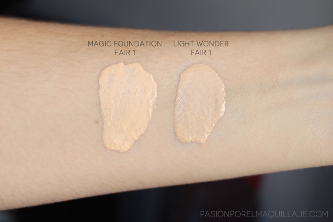 Magic Foundation vs. Light Wonder Charlotte Tilbury