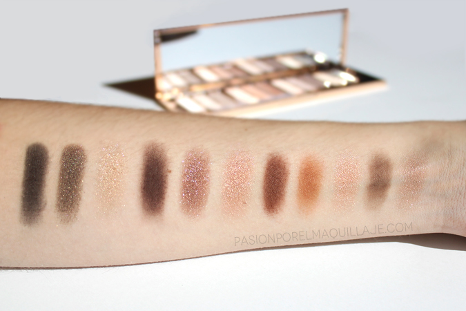 Swatches sombras Charlotte Tilbury