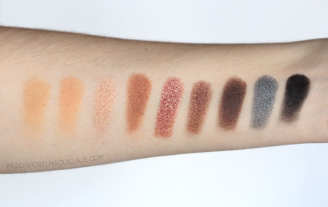 Beauty Bay Palettes Swatches