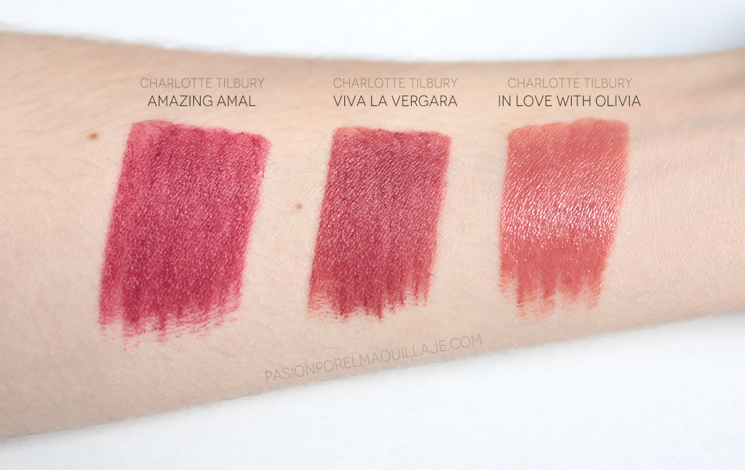 Hot Lips 2 Swatches Charlotte Tilbury
