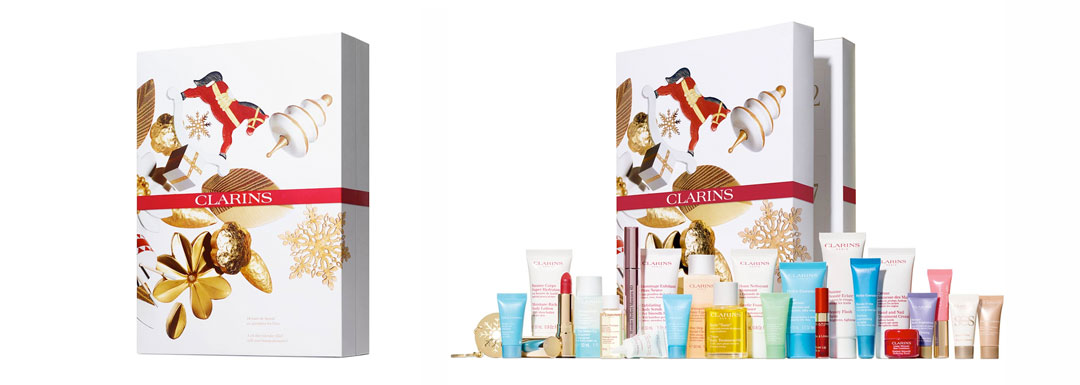 Calendario adviento Clarins 2019