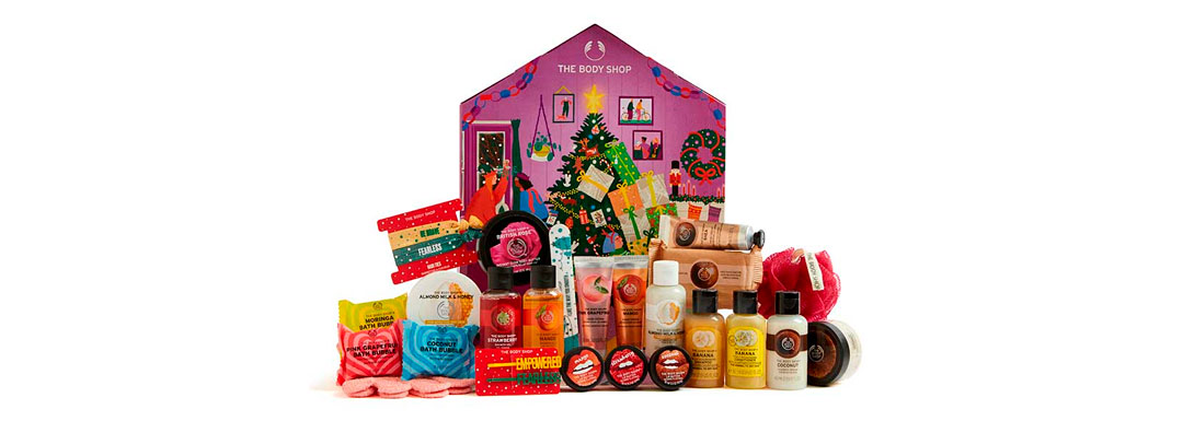 Calendario de adviento The Body Shop 2020