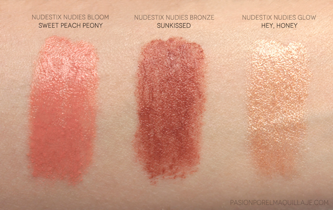 Nudestix Mini Nudies Swatches