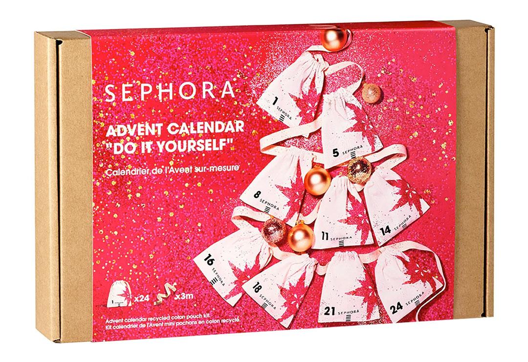 Calendario adviento Sephora DIY 2021