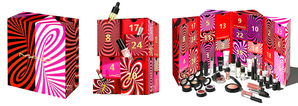 Calendario adviento MAC Cosmetics 2021